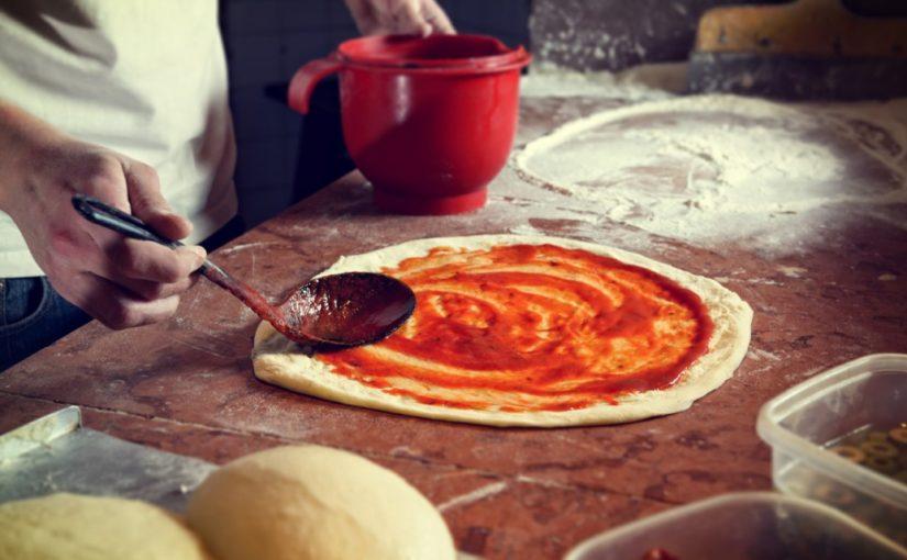 bułeczki z ciasta na pizze